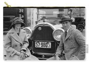 Couple With Their Peerless Car Carry-all Pouch