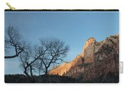 Court Of The Patriarchs Sunrise Zion National Park Carry-all Pouch