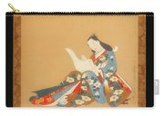 Courtesan Writing A Letter Carry-all Pouch