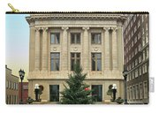 Courthouse At Christmas Carry-all Pouch