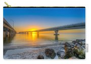 Courtney Campbell Bridge Sunrise - Tampa, Florida Carry-all Pouch