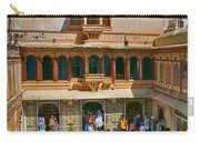 Courtyard, City Palace, Udaipur Carry-all Pouch