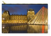 Courtyard Musee Du Louvre - Paris Carry-all Pouch