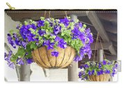 Courtyard Petunias Carry-all Pouch
