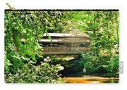 Covered Bridge At Lanterman's Mill Carry-all Pouch
