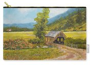 Covered Bridge At Little Creek Carry-all Pouch