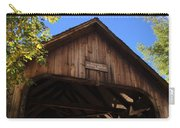 Covered Bridge In Woodstock Carry-all Pouch