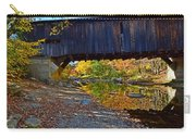 Covered Bridge Over The Cold River Carry-all Pouch