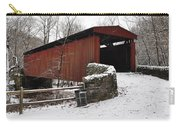 Covered Bridge Over The Wissahickon Creek Carry-all Pouch by Bill Cannon