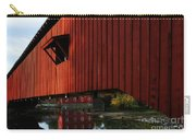 Covered Bridge Reflections Carry-all Pouch