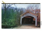 Covered Bridge Turkey Run Carry-all Pouch