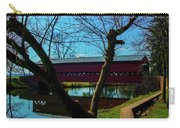 Covered Bridge Vivid Afternoon Carry-all Pouch