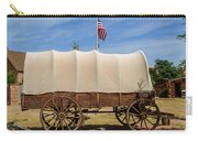 Covered Wagon At Fort Bluff Carry-all Pouch