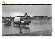 Covered Wagon River Ford And Cable Ferry 1903 Carry-all Pouch