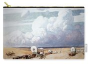 Covered Wagons Heading West Carry-all Pouch