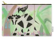 Cow And Crow In The Land Of Mushrooms Carry-all Pouch