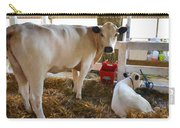 Cow And Little Calf Carry-all Pouch