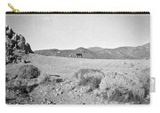 Cow At Pyramid Lake Carry-all Pouch
