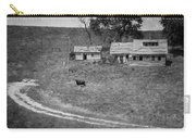 Cow At The Homestead Carry-all Pouch by Mary Lee Dereske