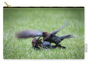Cow Bird Fight Carry-all Pouch