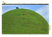Cow Eating On Round Top Hill Carry-all Pouch