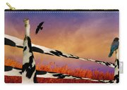 Cow Fence Carry-all Pouch