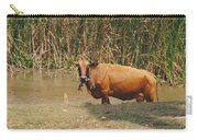 Cow In The Field Carry-all Pouch