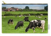 Cow Landscape Carry-all Pouch by Amanda Elwell