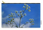 Cow Parsley Blossoms Carry-all Pouch