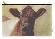 Cow Portrait IIi - Pregnant Pause Carry-all Pouch
