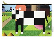Cow Squared With Barn Big Carry-all Pouch