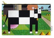 Cow Squared With Barn Left Carry-all Pouch