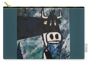 Cow With A Pearl Earring Carry-all Pouch