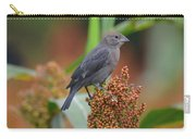 Cowbird Feasting On Milo And Shiloh Military Park In Tennessee Carry-all Pouch