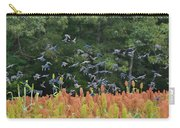 Cowbirds In Flight Over Milo Fields In Shiloh National Military Park Carry-all Pouch