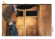 Cowboy By Saloon Doors Carry-all Pouch