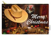 Cowboy Christmas Party - Merry Christmas Carry-all Pouch