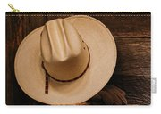 Cowboy Hat And Gear Carry-all Pouch