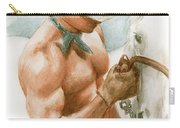 Cowboy Watercolor Carry-all Pouch