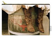 Cowgirl Boots Carry-all Pouch