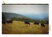 Cows At Doughton Park Carry-all Pouch