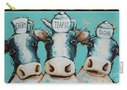 Cows For Tea Carry-all Pouch