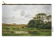 Cows In A Meadow Carry-all Pouch