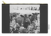 Cows In Black And White Carry-all Pouch