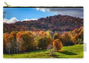 Cows In Pomfret Vermont Fall Foliage Carry-all Pouch