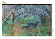 Cows In The Olive Grove Carry-all Pouch