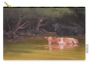 Cows Just Wanna Have Fun Carry-all Pouch