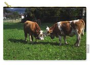 Cows Nuzzling Carry-all Pouch