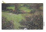 Cows Sitting By Hill Relaxing Carry-all Pouch
