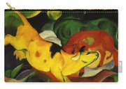 Cows Yellow Red Green 1912 Carry-all Pouch